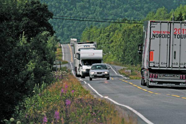 Trafikk i Lofoten